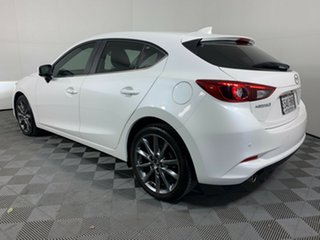 2018 Mazda 3 BN5438 SP25 SKYACTIV-Drive Astina White Pearl 6 Speed Sports Automatic Hatchback