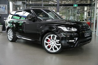 2015 Land Rover Range Rover Sport L494 16MY HSE Dynamic Black 8 Speed Sports Automatic Wagon.