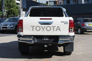 2019 Toyota Hilux GUN126R SR5 Double Cab White Pearl 6 Speed Sports Automatic Utility