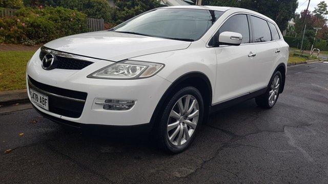 Used Mazda CX-9 Luxury Prospect, 2008 Mazda CX-9 Luxury Pearl White 6 Speed Auto Activematic Wagon