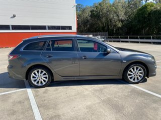 2012 Mazda 6 GH MY11 Touring Grey 5 Speed Auto Activematic Wagon.