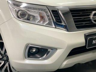 2017 Nissan Navara D23 S2 ST-X White 6 Speed Manual Utility.