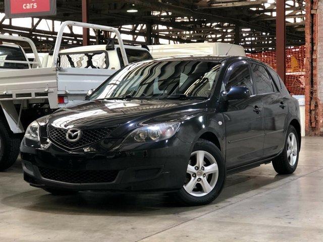Used Mazda 3 BK10F2 Maxx Mile End South, 2007 Mazda 3 BK10F2 Maxx Black 4 Speed Sports Automatic Hatchback