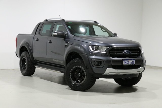 Used Ford Ranger PX MkIII MY20.25 Wildtrak 3.2 (4x4) Bentley, 2020 Ford Ranger PX MkIII MY20.25 Wildtrak 3.2 (4x4) Grey 6 Speed Automatic Double Cab Pick Up