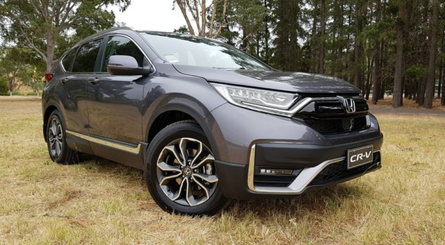 New Honda CR-V RW MY21 VTi FWD L7 Tanunda, 2021 Honda CR-V RW MY21 VTi FWD L7 Modern Steel 1 Speed Automatic Wagon