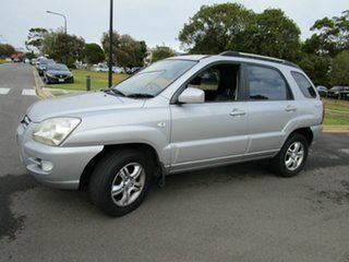 2008 Kia Sportage KM EX-L (Limited) (4x4) Silver 6 Speed Manual Wagon