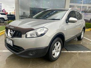 2012 Nissan Dualis J10 Series II MY2010 +2 Hatch X-tronic ST Silver 6 Speed Constant Variable