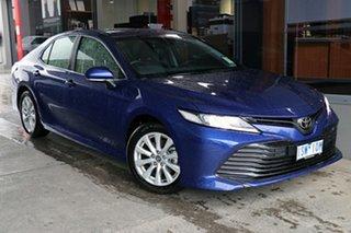 2020 Toyota Camry ASV70R Ascent Lunar Blue 6 Speed Sports Automatic Sedan.