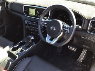 2019 Kia Sportage QL MY19 GT-Line AWD Silver 8 Speed Sports Automatic Wagon.