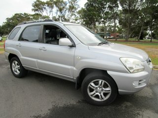 2008 Kia Sportage KM EX-L (Limited) (4x4) Silver 6 Speed Manual Wagon.