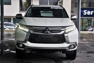 2018 Mitsubishi Pajero Sport QE MY19 Exceed White 8 Speed Sports Automatic Wagon.