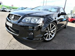 2011 Holden Commodore VE II SS-V Black 6 Speed Manual Utility.