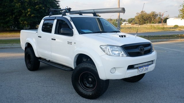 Used Toyota Hilux KUN26R MY09 SR Maddington, 2008 Toyota Hilux KUN26R MY09 SR White 4 Speed Automatic Utility