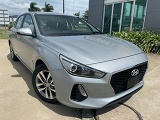 2019 Hyundai i30 PD2 MY19 Active Silver/311019 6 Speed Sports Automatic Hatchback.
