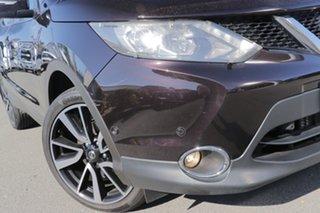 2014 Nissan Qashqai J11 TI Nightshade 1 Speed Constant Variable Wagon.