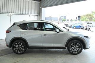 2017 Mazda CX-5 KF4WLA Akera SKYACTIV-Drive i-ACTIV AWD Silver 6 Speed Sports Automatic Wagon