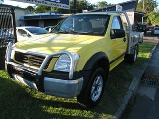 2006 Holden Rodeo RA MY06 Upgrade LX Yellow 4 Speed Automatic Cab Chassis.