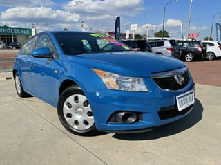 2011 Holden Cruze JH MY12 CD Blue 6 Speed Automatic Hatchback.