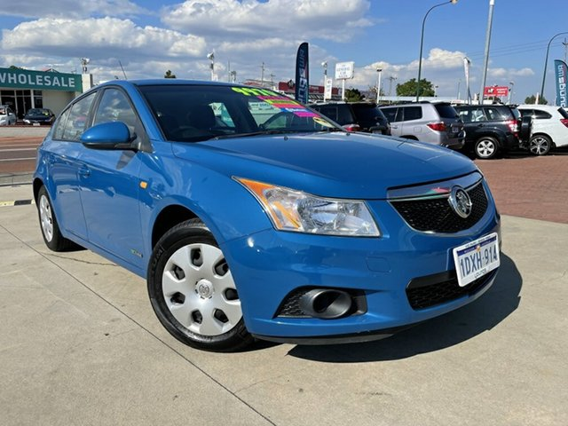 Used Holden Cruze JH MY12 CD Victoria Park, 2011 Holden Cruze JH MY12 CD Blue 6 Speed Automatic Hatchback
