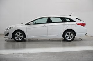 2014 Hyundai i40 VF2 Active Tourer White 6 Speed Sports Automatic Wagon.