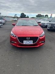 2017 Mazda 3 BN5278 Maxx SKYACTIV-Drive Red 6 Speed Sports Automatic Sedan.