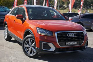 2017 Audi Q2 GA MY17 design S Tronic Orange 7 Speed Sports Automatic Dual Clutch Wagon.