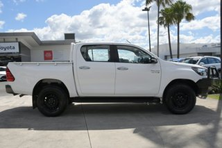 2017 Toyota Hilux GUN126R SR Double Cab Glacier White 6 Speed Manual Utility