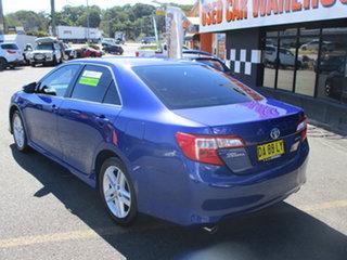 2013 Toyota Camry ASV50R Atara R Blue 6 Speed Automatic Sedan.