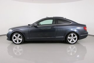 2013 Mercedes-Benz C250 W204 MY12 BE Grey 7 Speed Automatic G-Tronic Coupe