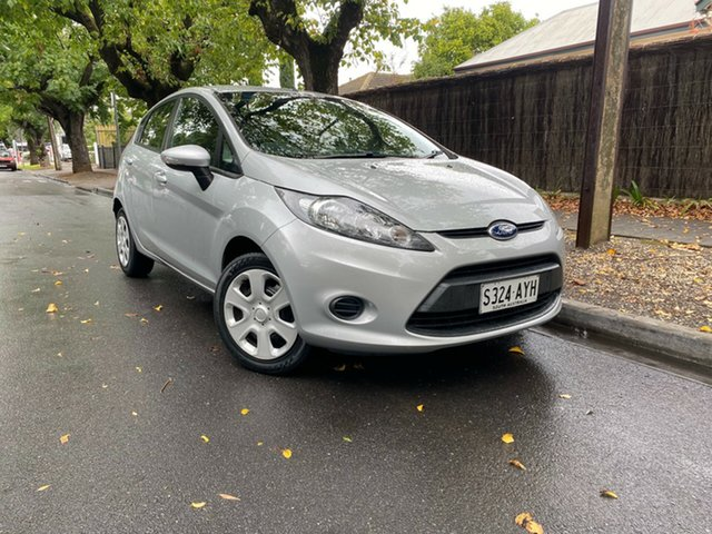 Pre-Owned Ford Fiesta WT CL PwrShift Hawthorn, 2013 Ford Fiesta WT CL PwrShift Silver 6 Speed Sports Automatic Dual Clutch Hatchback