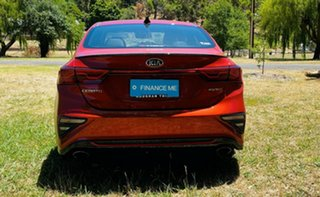 2020 Kia Cerato BD MY21 GT DCT Sunset Orange 7 Speed Manual Sedan