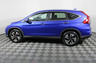 2016 Honda CR-V RM Series II MY17 VTi-L Blue 5 Speed Sports Automatic Wagon