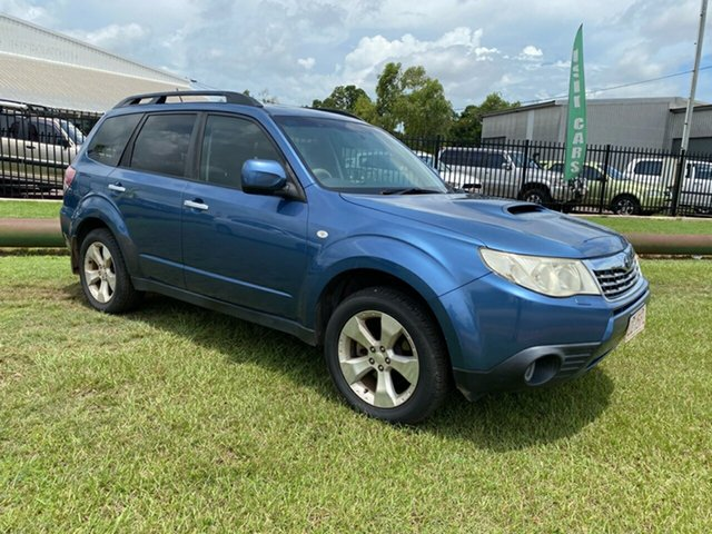 Used Subaru Forester S3 MY10 2.0D AWD Premium Berrimah, 2010 Subaru Forester S3 MY10 2.0D AWD Premium Blue 6 Speed Manual Wagon