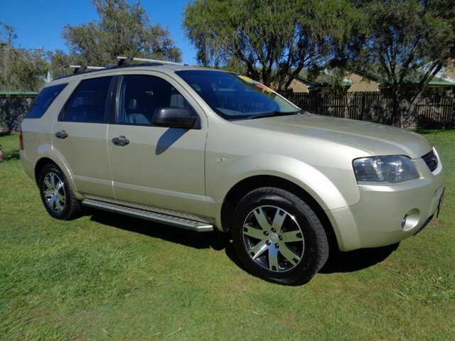 Used Ford Territory SY SR Kippa-Ring, 2007 Ford Territory SY SR Gold 4 Speed Sports Automatic Wagon