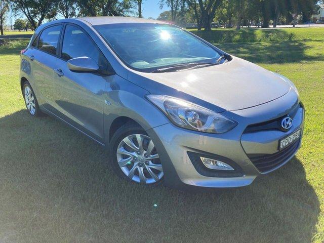 Used Hyundai i30 GD Active South Grafton, 2013 Hyundai i30 GD Active Silver 6 Speed Sports Automatic Hatchback