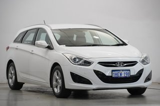 2014 Hyundai i40 VF2 Active Tourer White 6 Speed Sports Automatic Wagon