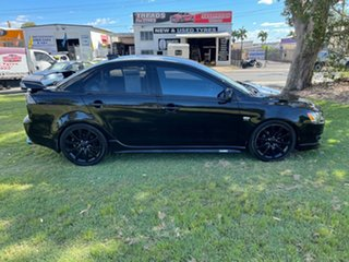 2009 Mitsubishi Lancer CJ MY09 VR-X Black 6 Speed Constant Variable Sedan