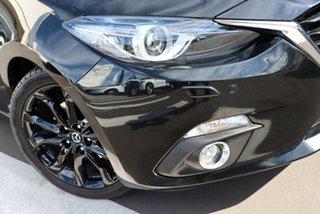 2016 Mazda 3 BM5438 SP25 SKYACTIV-Drive Astina Jet Black 6 Speed Sports Automatic Hatchback.