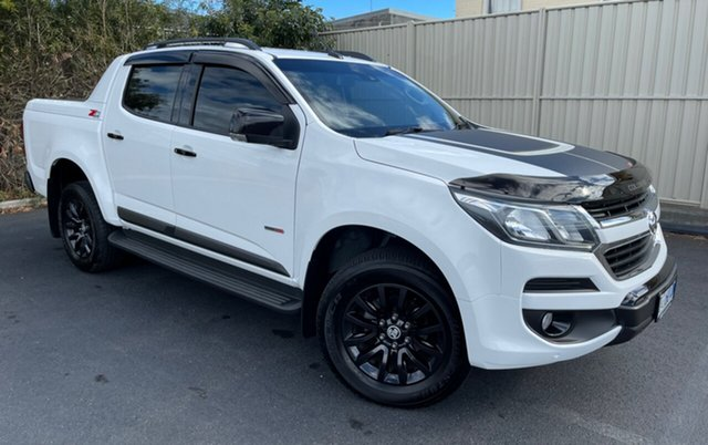 Used Holden Colorado RG MY18 Z71 Pickup Crew Cab Devonport, 2017 Holden Colorado RG MY18 Z71 Pickup Crew Cab White 6 Speed Sports Automatic Utility