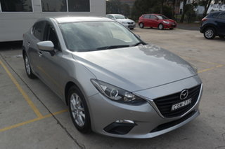 2013 Mazda 3 BM5278 Maxx SKYACTIV-Drive Silver 6 Speed Sports Automatic Sedan.