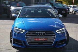 2017 Audi S3 8V MY17 S Tronic Quattro Blue 7 Speed Sports Automatic Dual Clutch Sedan.
