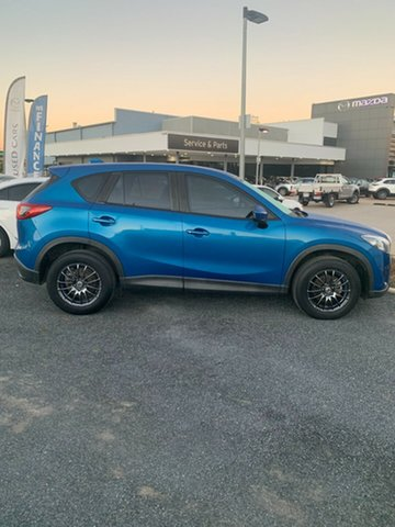 Used Mazda CX-5 KE1071 Maxx SKYACTIV-MT North Rockhampton, 2012 Mazda CX-5 KE1071 Maxx SKYACTIV-MT Sky Blue 6 Speed Manual Wagon