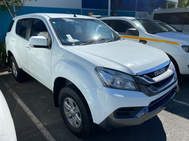 Used Isuzu MU-X MY15.5 LS-M Rev-Tronic Robina, 2016 Isuzu MU-X MY15.5 LS-M Rev-Tronic White 5 speed Automatic Wagon