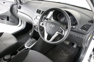 2011 Hyundai Accent RB Active Silver 4 Speed Automatic Sedan