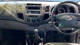 2008 Toyota Hilux KUN26R MY09 SR Silver 5 Speed Manual Utility