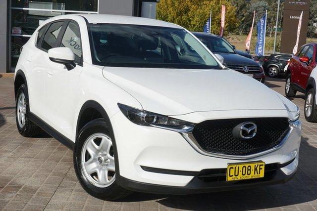 Used Mazda CX-5 KF2W7A Maxx SKYACTIV-Drive FWD Phillip, 2018 Mazda CX-5 KF2W7A Maxx SKYACTIV-Drive FWD White 6 Speed Sports Automatic Wagon