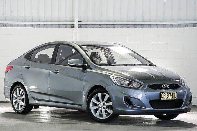 Used Hyundai Accent RB6 MY18 Sport West Gosford, 2018 Hyundai Accent RB6 MY18 Sport Silver 6 Speed Sports Automatic Sedan