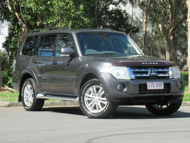 Used Mitsubishi Pajero NW MY13 VR-X, 2012 Mitsubishi Pajero NW MY13 VR-X Grey 5 Speed Sports Automatic Wagon