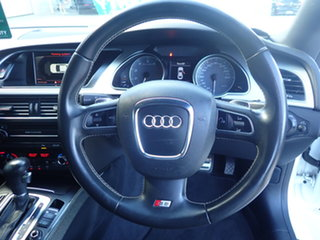 2010 Audi S5 8T 4.2 FSI Quattro White Crystal 6 Speed Tiptronic Coupe