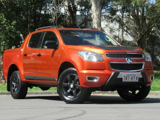 Used Holden Colorado RG MY17 Z71 Pickup Crew Cab, 2016 Holden Colorado RG MY17 Z71 Pickup Crew Cab Orange 6 Speed Sports Automatic Utility
